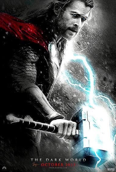 Cartel de Thor 2 dark world