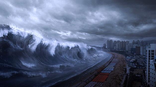 tidal wave - tsunami