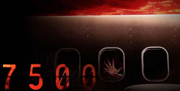 Pelicula de terror Vuelo 7500 movie 2014