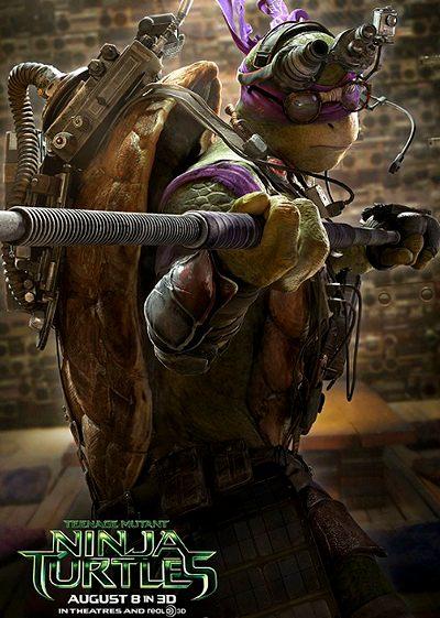 Las Tortujas Ninja pelicula de ciencia ficcion