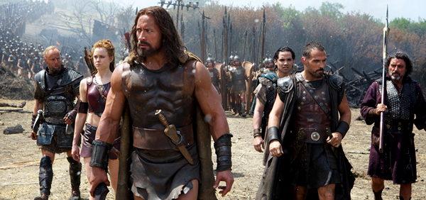 Pelicula Hercules con Dwayne johnson 'La Roca'