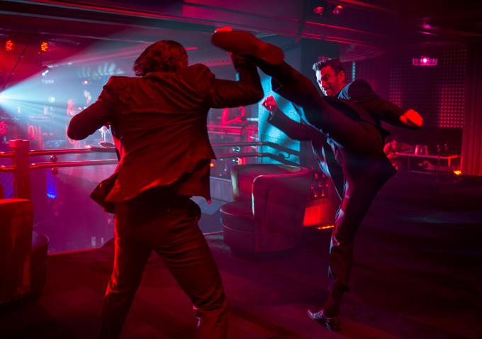 John wick con Keanu Reeves