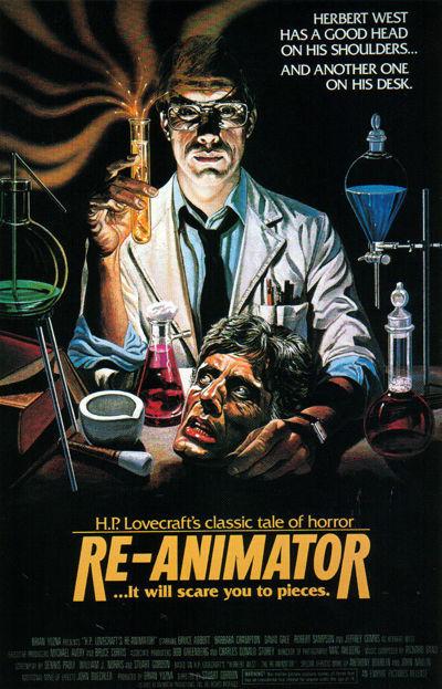 Peliculas de Terror - Re-Animator 1985