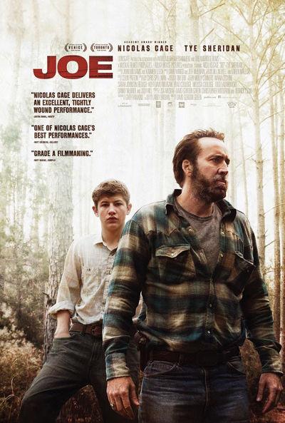 Joe con Nicolas Cage 2014