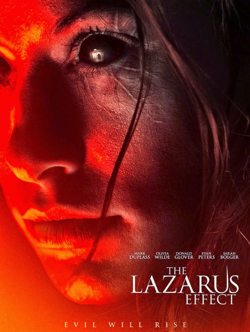 Pelicula the lazarus effect