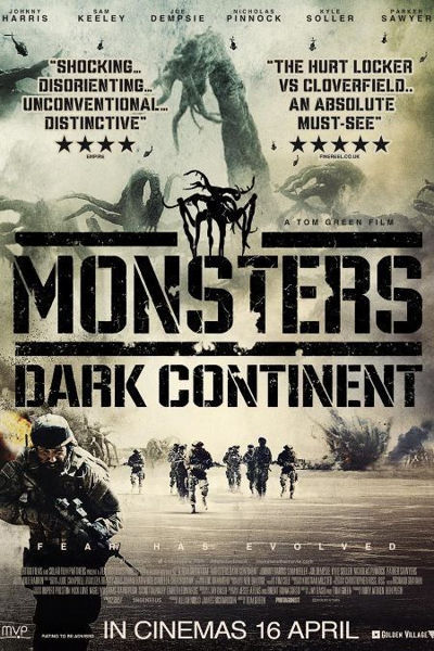 Pelicula 2015 Monsters: Dark Continent