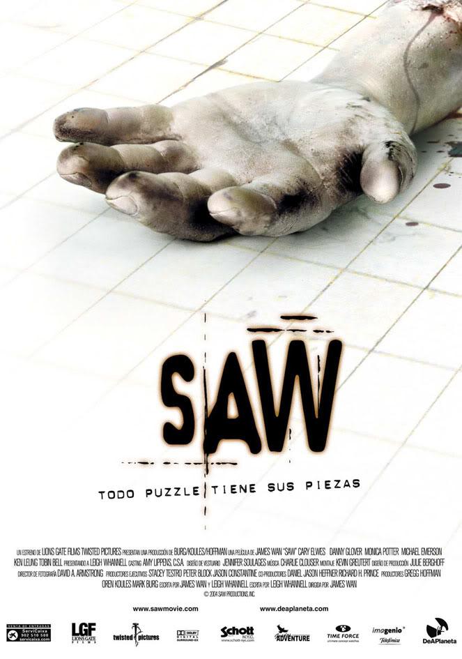 Especial de la Saga SAW: Saw 1