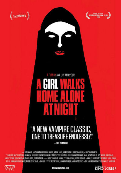 A Girl Walks Home Alone at Night 2015 terror