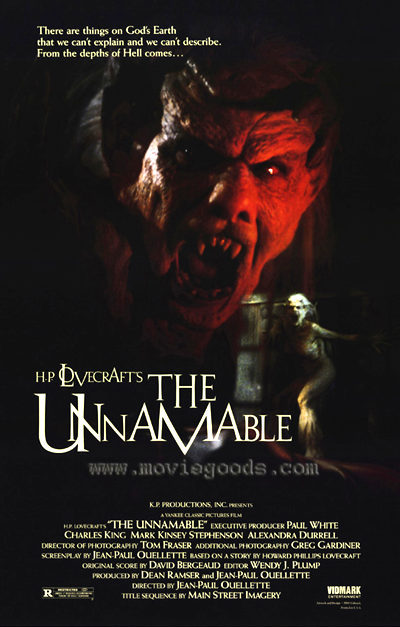 The Unnamable – Lo innombrable (1988)