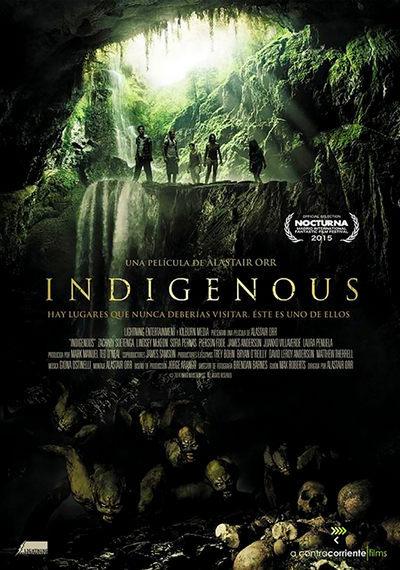 Indigenous 2015 pelicula de terror
