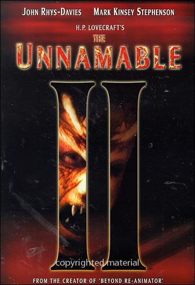 The Unnamable II – Donde Duerme El Horror II (1992)