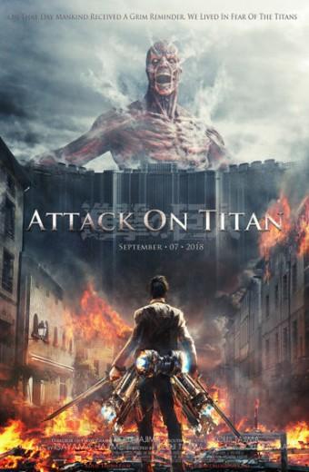 PeliculaAttack on titan 2015