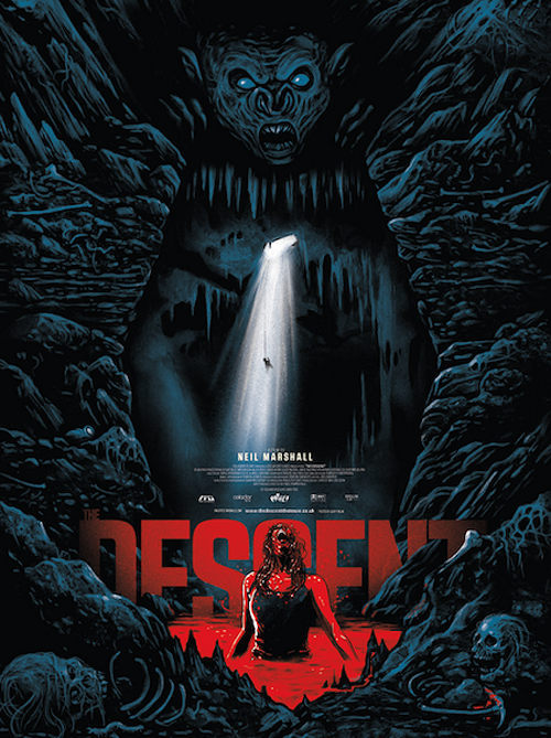 Pelicula de terror the descent