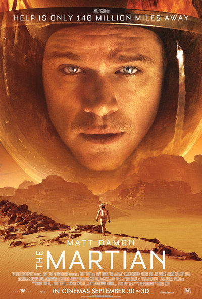 pelicula the martian