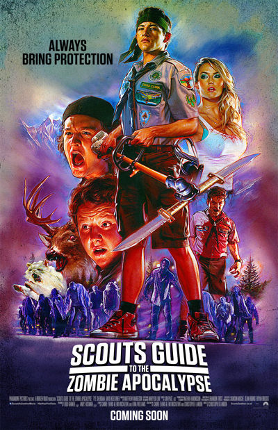 pelicula de terror Scouts Guide to the Zombie Apocalypse