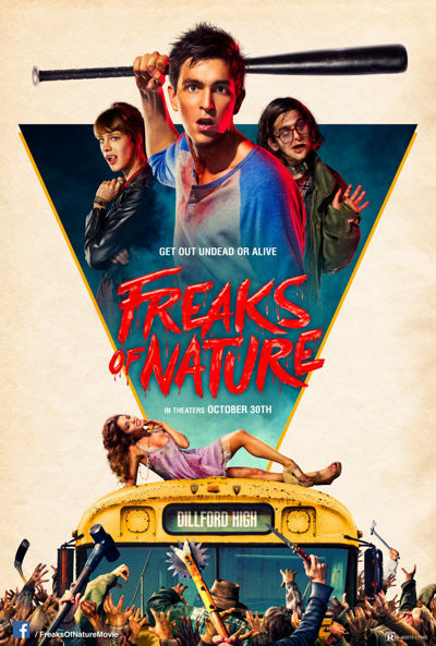 Peliculas de terror Freaks of Nature