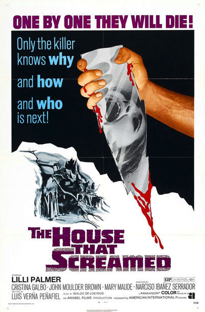 Peliculas de terror The House That Screamed
