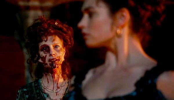 PELICULA orgullo, prejuicio y zombies