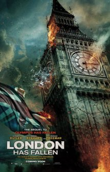 London has Fallen – Londres Bajo Fuego (2016)