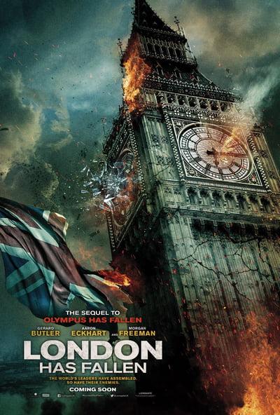 London has Fallen - Londres Bajo Fuego (2016)