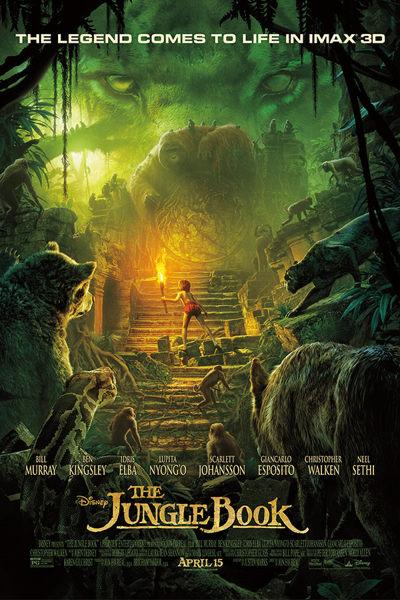 peliculas el libro de la selva 2016