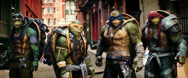 PELICULA Teenage Mutant Ninja Turtles 2
