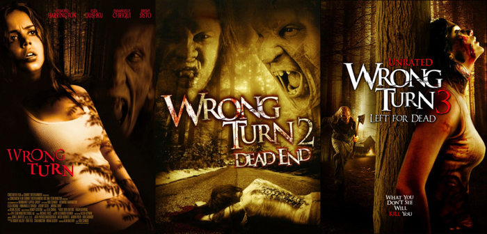 Wrong Turn - KM 666 saga