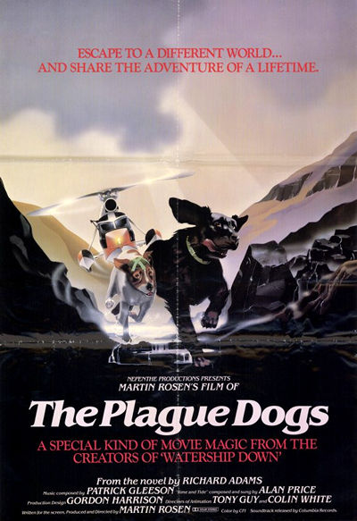 The Plague Dogs - Plaga de Perros 1982 pelicula