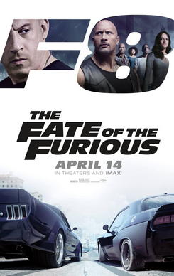 Rapido y Furioso 8 - The Fate of the Furious (2017)