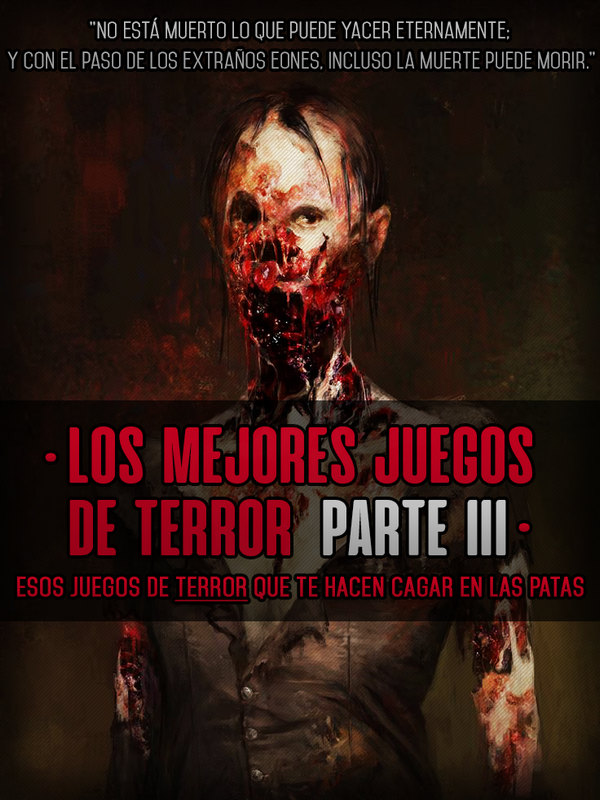 mejores juegos de terror