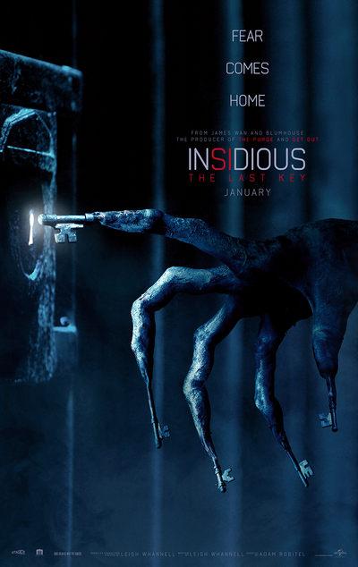 Insidious 4 - the last key - Peliculas de terror
