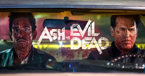 ASH VS EVIL DEAD SERIE DE TERROR