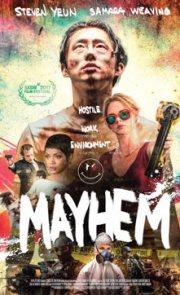 MAYHEM (2017) – con el chino de the walking dead
