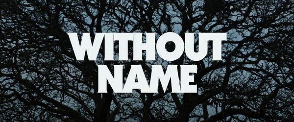 WITHOUT NAME - peliculas de terror 2017