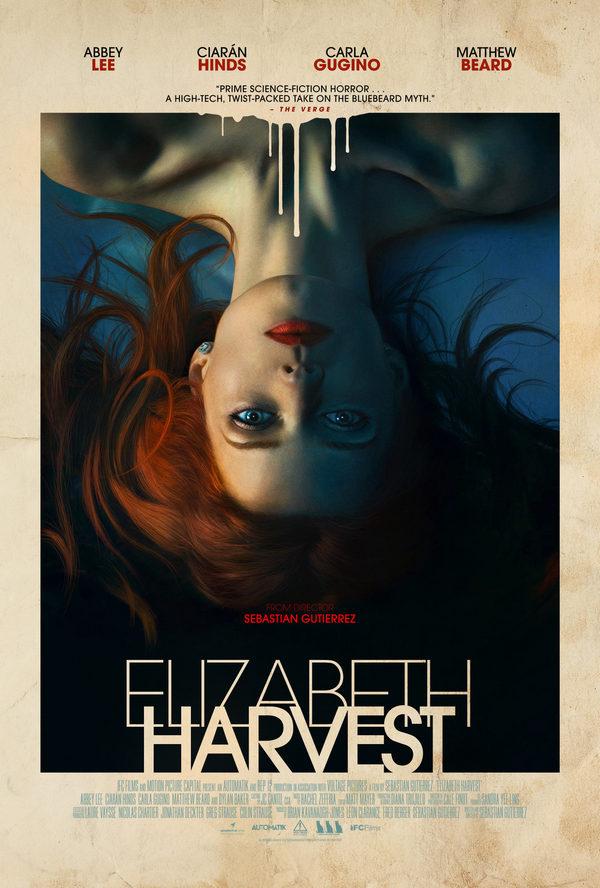 El Thriller de Terror Elizabeth Harvest llega a Blu Ray el 4 de diciembre 2