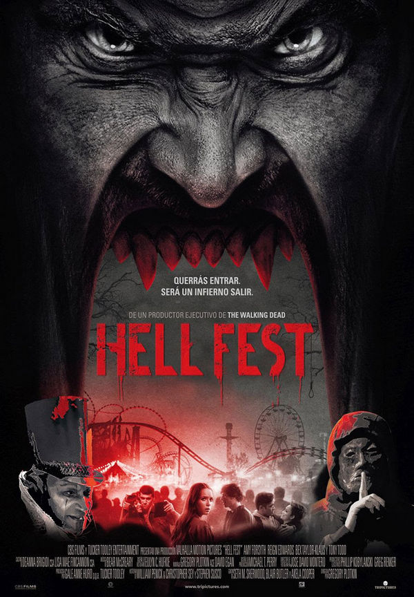 Hell Fest desata el infierno en un parque de atracciones 2