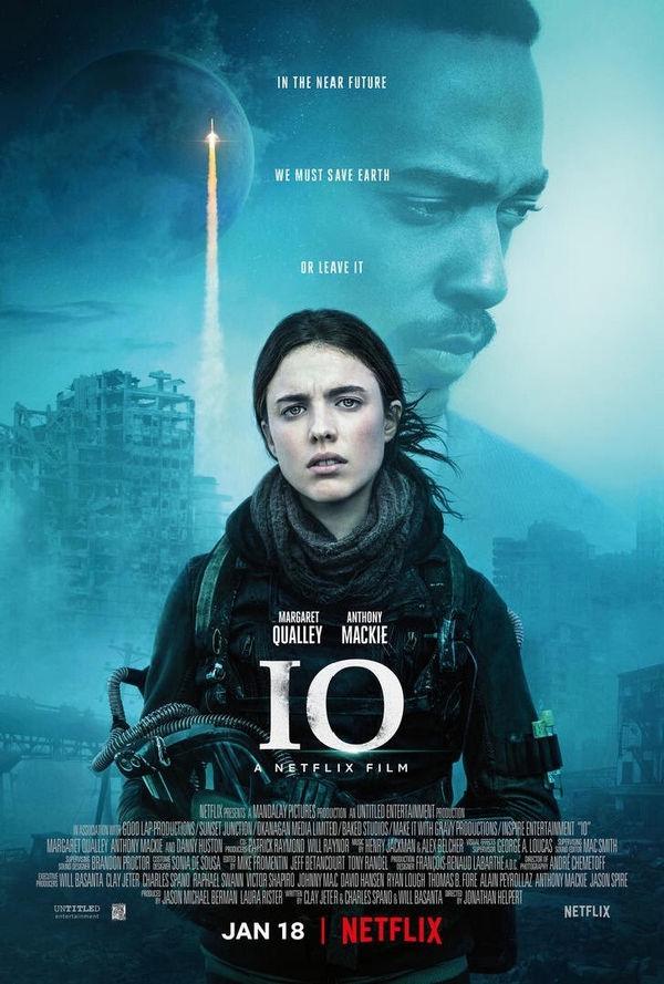 IO Mira el trailer de esta nueva pelicula post cataclismica de Netflix
