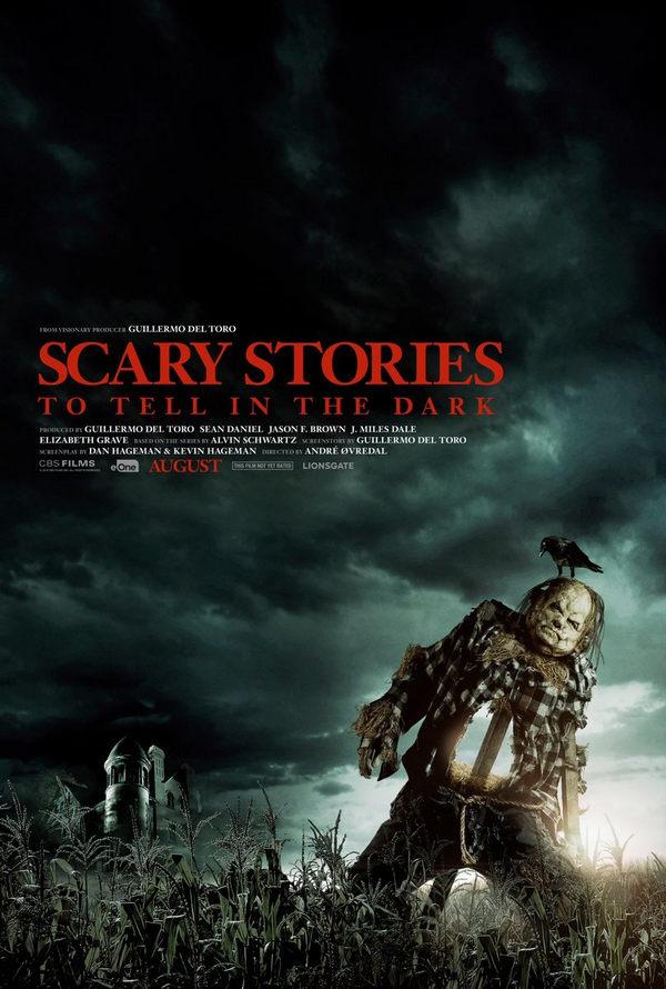 Scary Stories to Tell in the Dark Poster de la peli de terror de Guillermo del Toro