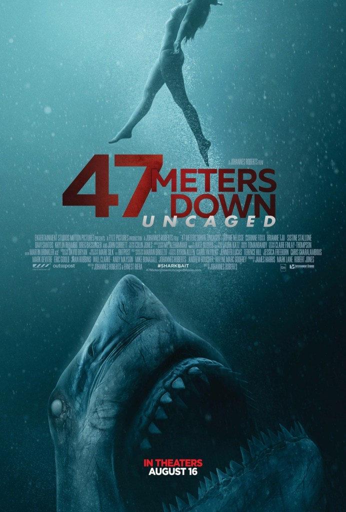 47 Meters Down Uncaged los tiburones atacaran de nuevo en agosto
