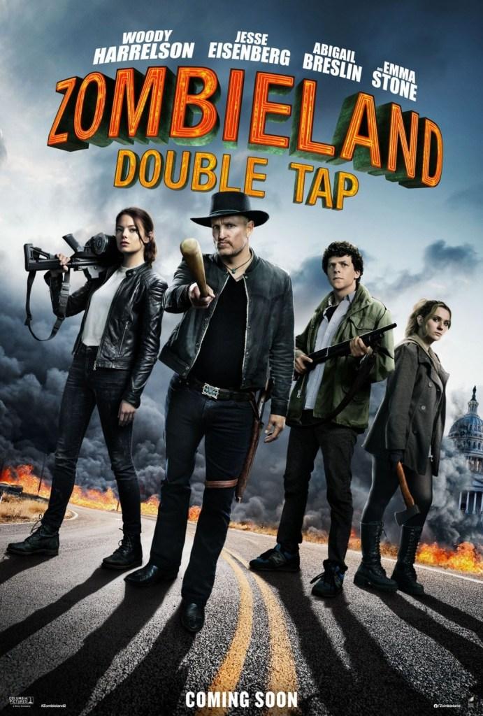 La banda entera regresa en Octubre con Zombieland Double Tap