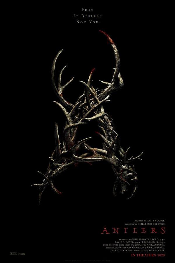 Antlers producida por Guillermo del Toro promete algo espeluznante