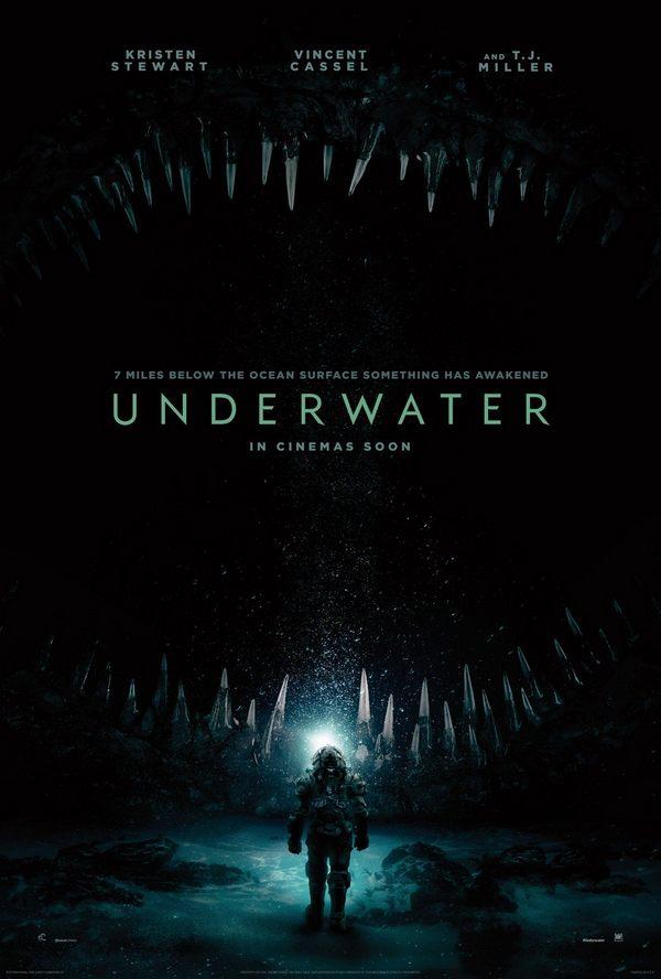 Underwater se la pega en taquilla aunque los fans del horror la defienden