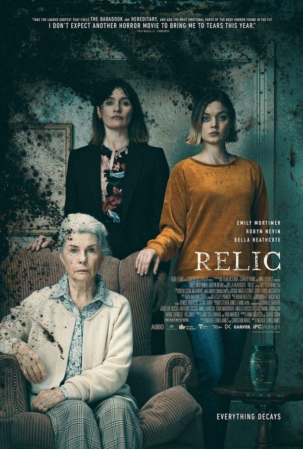 Nuevo trailer de Relic que se estrena el 10 de julio 2