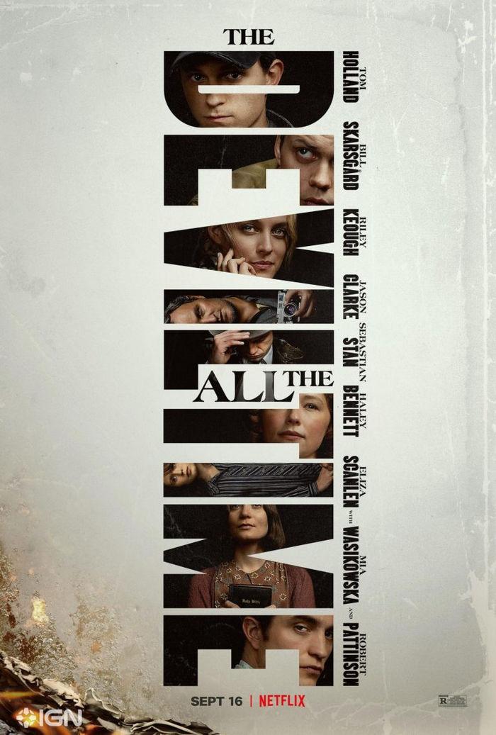 The Devil All the Time Pattinson Skarsgård y Holland protagonizan este enigmático thriller