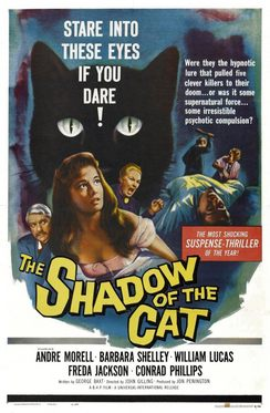 La sombra del gato The Shadow of the Cat 1961 5