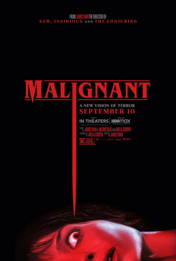 Malignant lo nuevo de James Wan estrena trailer y poster 2