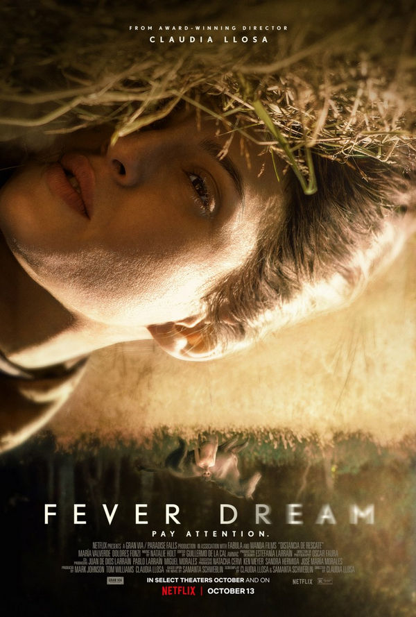 Fever Dream el nuevo film de Netflix podria ser una pesadilla...
