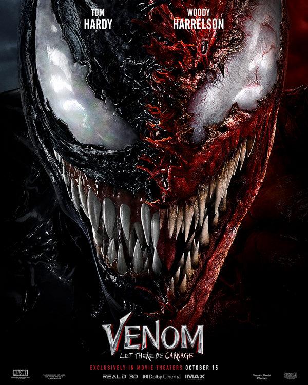 Venom Let There Be Carnage se estrenara en los cines el 1 de octubre